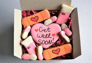 "Dante's ""Get Well Soon"" Cookie Box"
