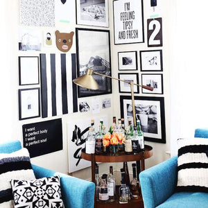 Graphic Modern Gallery Walls