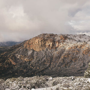 Snow on Pinos Mountain