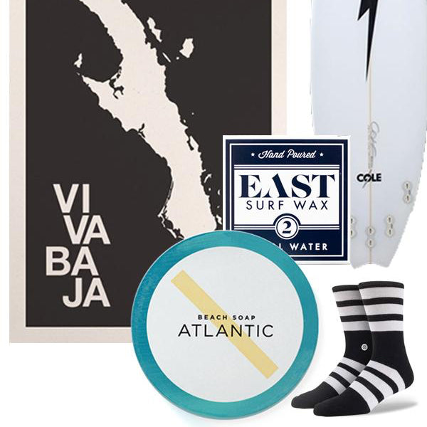In Good Company: Graphic Surf Accessories