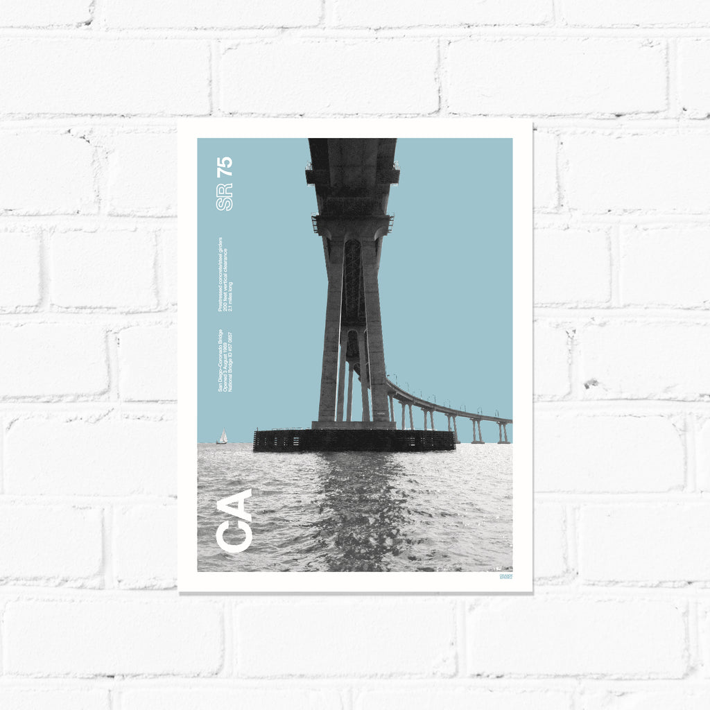 New! 50th Anniversary Bridge Print