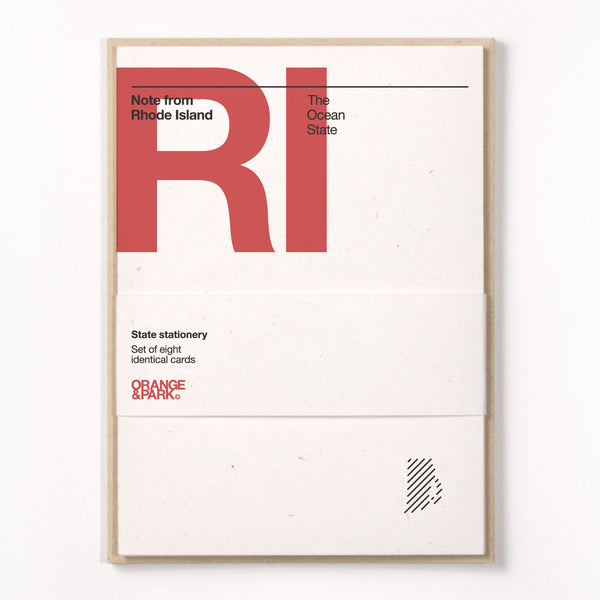 Rhode Island Stationery Set