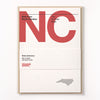 North Carolina stationery