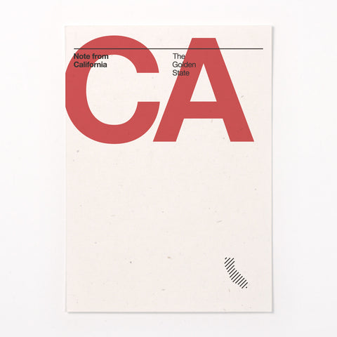 California stationery