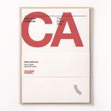 California Stationery Set