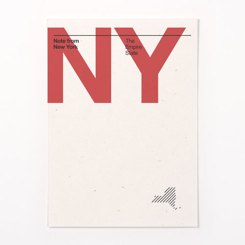 New York stationery
