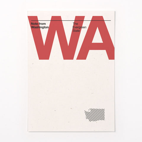 Washington stationery