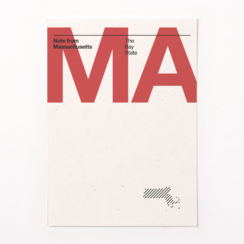 Massachusetts stationery