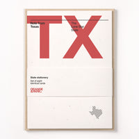 Texas Stationery Set