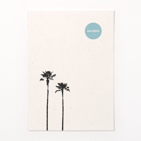 San Diego Palms stationery