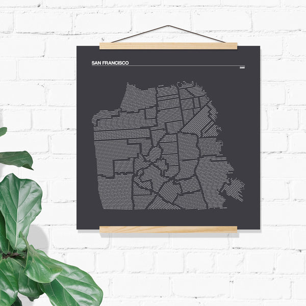 San Francisco Districts Print