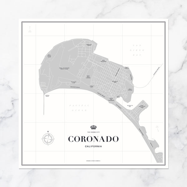 photograph about Printable Map of Orange County Ca called ORANGE PARK Prints