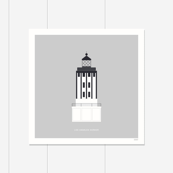 Los Angeles Harbor Lighthouse Print