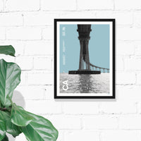 50th Anniversary Bridge Print