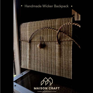 The Durable Handmade Wicker Backpack