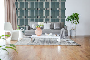 Wallcovering_Basil green center