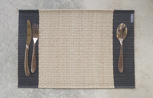 Placemat L Mixed Natural Center