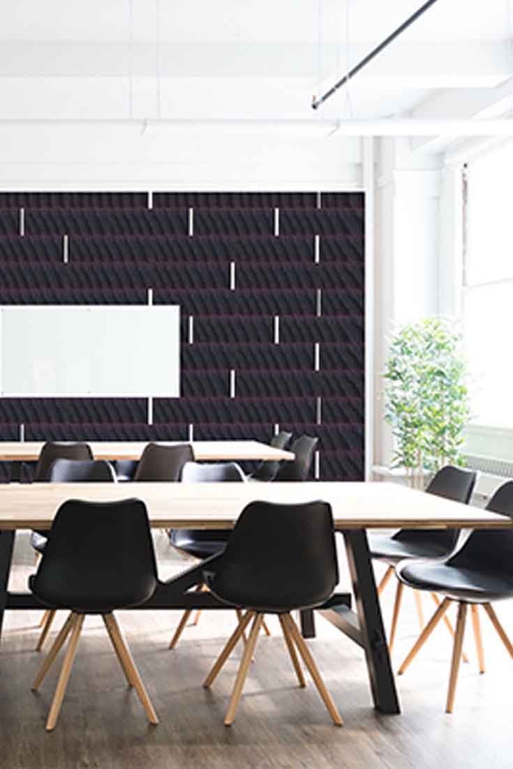 Wallcovering_Cherry black center