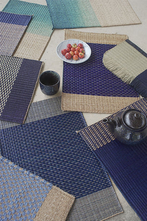 Placemat L Indigo Center