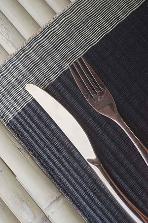 Placemat L Midnight Horizon Edge stripe