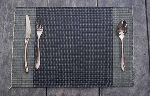 Placemat L Midnight Stripe Rain
