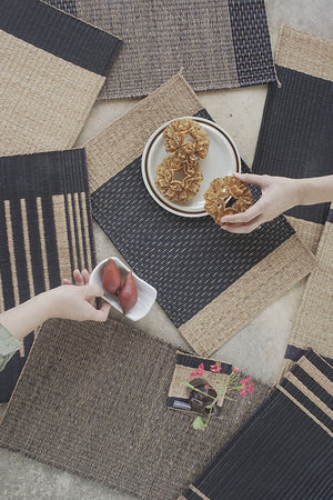 Placemat L Mixed Pure Stripe