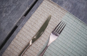 Placemat L Natural Mixed Jute