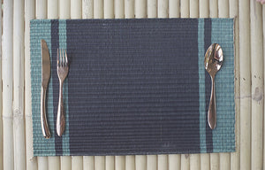 Placemat L Basil Pasta Black Center