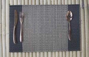 Placemat L Midnight Center stripe