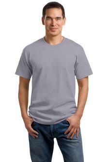 T-Shirt: Adult M: Plain: Medium Grey