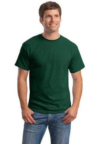 T-Shirt: Adult 2XL: Plain: Forest Green