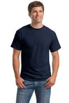 T-Shirt: Adult S: Plain: Navy Blue