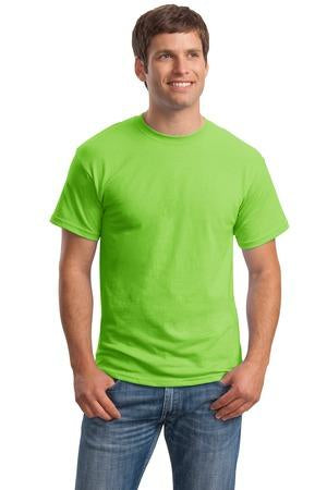 T-Shirt: Adult 2XL: Plain: Lime Green