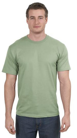 T-Shirt: Adult 3XL: Plain: Stone Washed Green