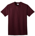 T-Shirt: Adult XL: Plain: Athletic Maroon