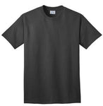 T-Shirt: Adult M: Plain: Charcoal