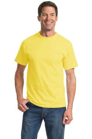 T-Shirt: Adult M: Plain: Yellow