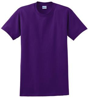 T-Shirt: Youth M: Plain: Purple