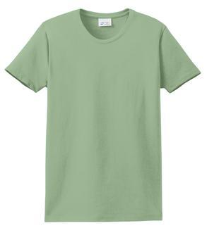 T-Shirt: Youth S: Plain: Stone Green