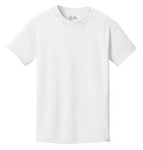 T-Shirt: Youth M: Plain: White
