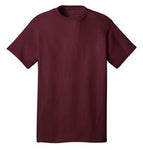 T-Shirt: Youth S: Plain: Maroon