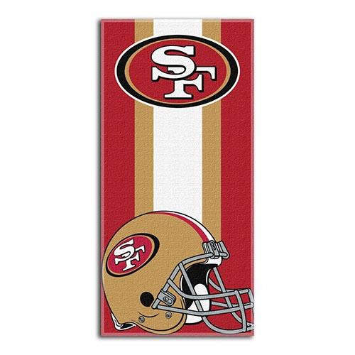 Beach Towel NFL San Francisco 49ers 30x60
