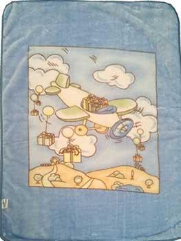 Blanket Baby 50x60365 Airplane Blue