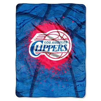 Blanket 60x80 NBA Los Angeles Clippers -Shadow Play