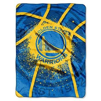 Blanket 60x80 NBA Golden State Warriors Shadow Play
