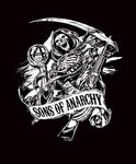 Blanket Queen- Sons Of Anarchy 1408 Reaper Slash
