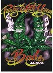 Blanket Queen TOR/TOR- Leaf Ct- Party With Your Buds 420 G129