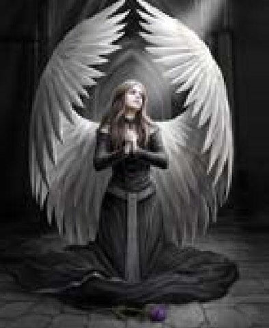 Blanket Queen Signature Select Prayer to the Fallen Angel