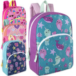 Wholesale 15 Inch Character Backpacks - Girls Assortment