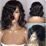 Short Wavy Bob Lace Front wig/Full Lace Wig
